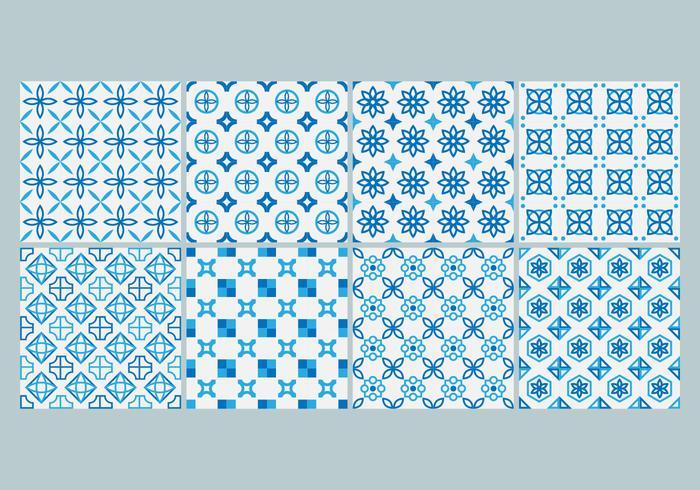 Vector Azotejo Pattern gratuit