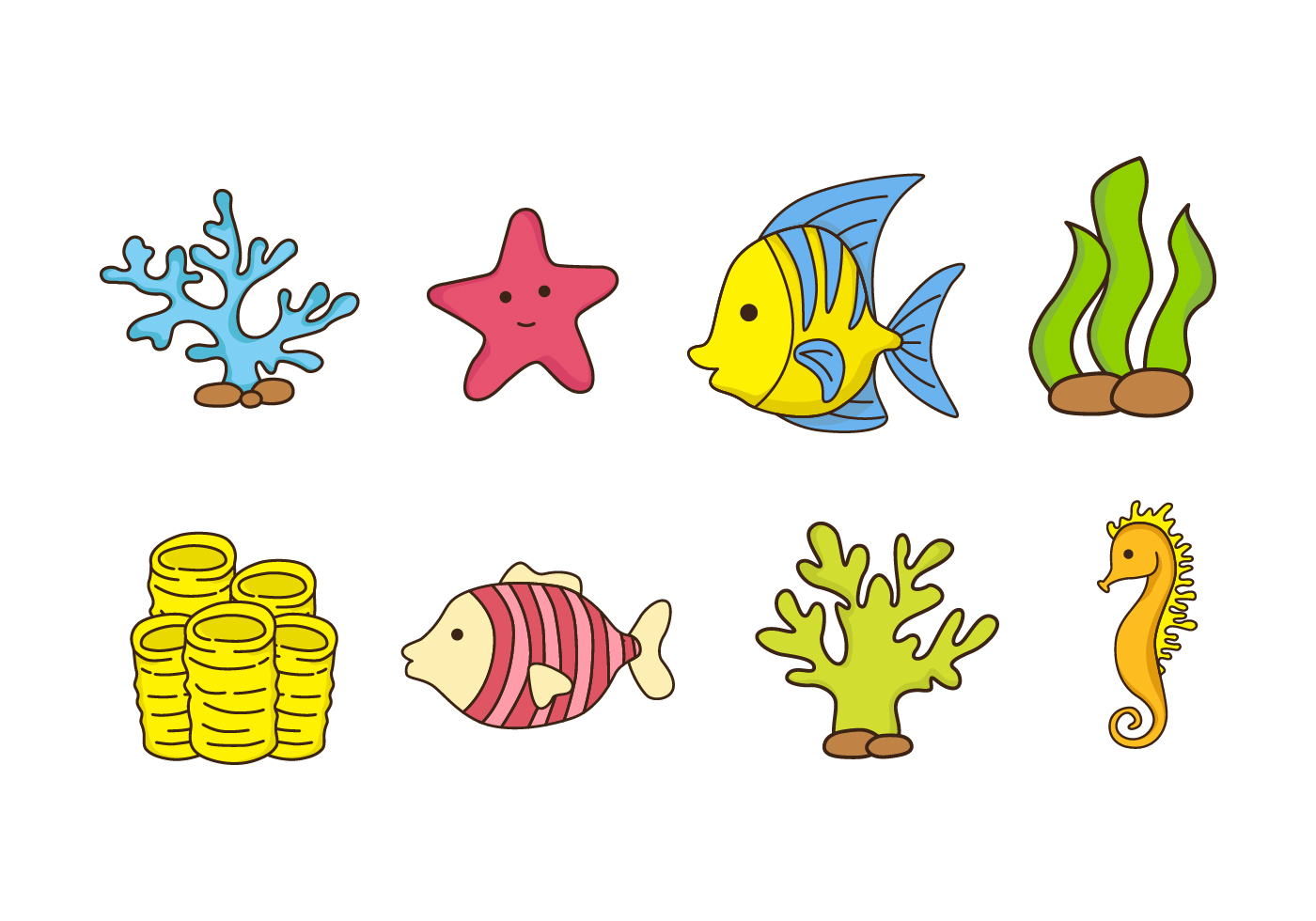 Coral Reef Free Vector Art - (731 Free Downloads)