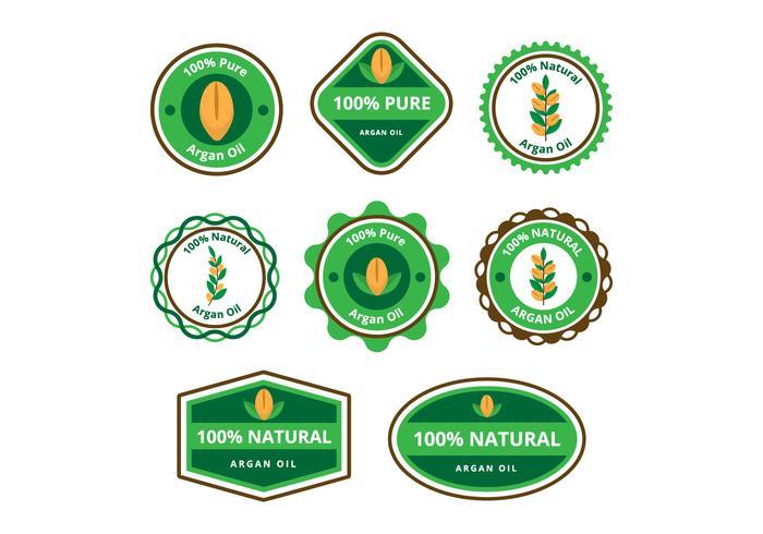 Free Argan Oil Badge