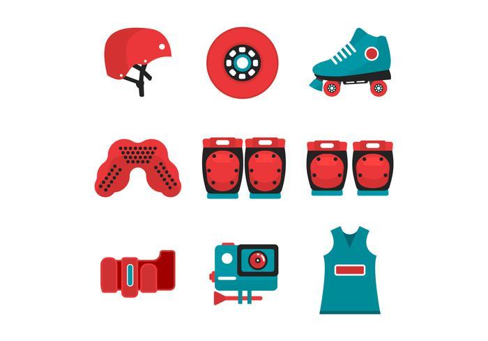 Gratis Roller Derby Starter Kit Icon