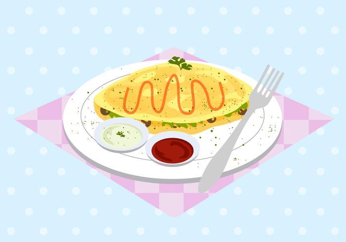 Free Omelet Vector