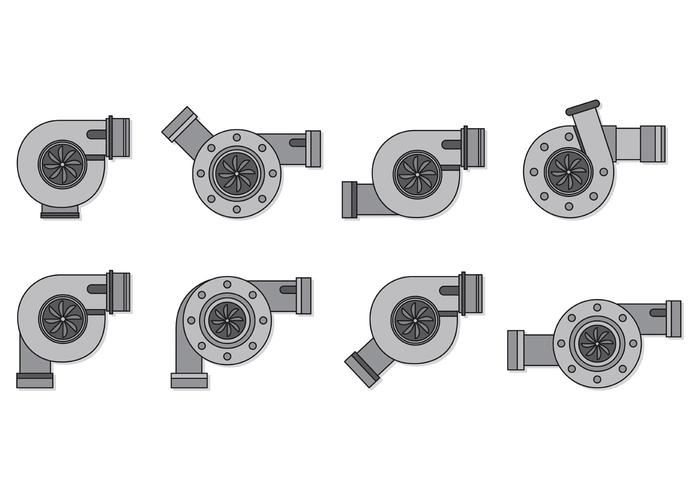 Set Turbo-Laders vector