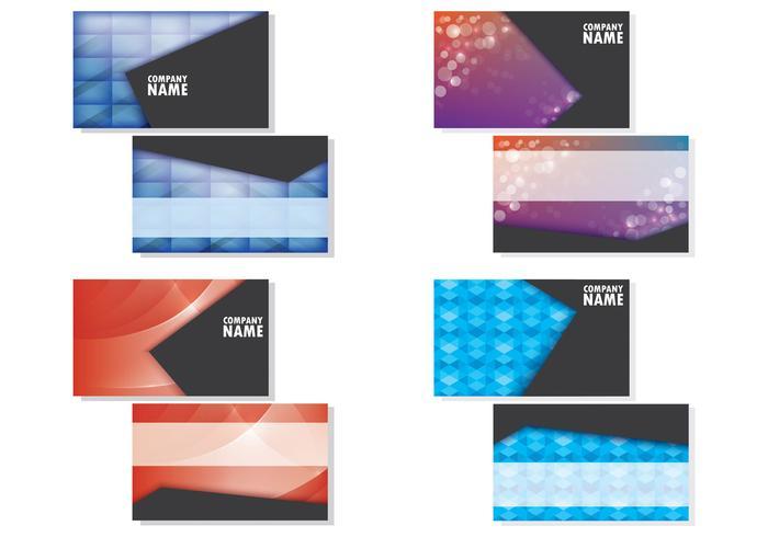 Set Of Namecard Templates - Download Free Vector Art, Stock Graphics ...