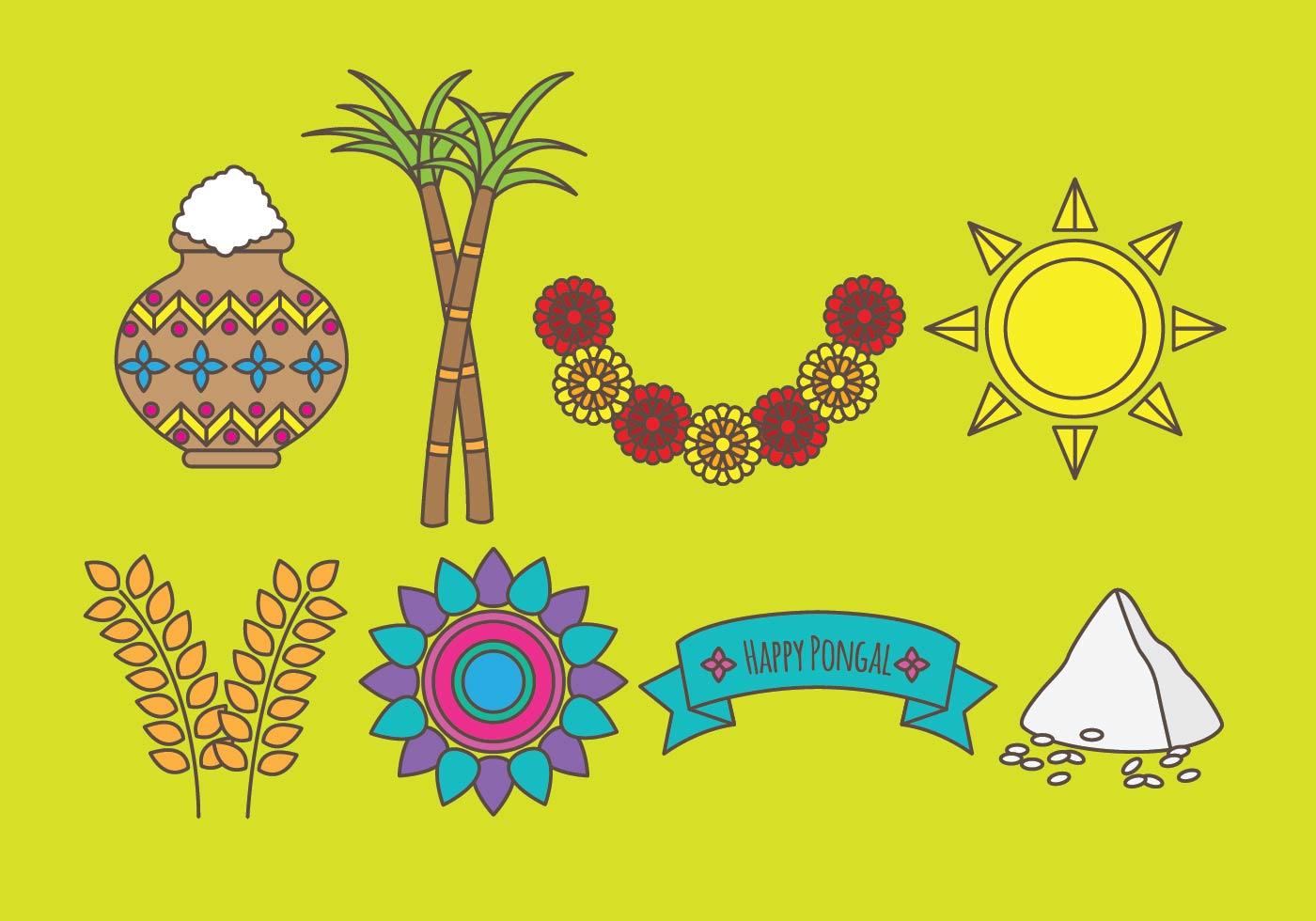 Pongal Free Vector Art 6721 Free Downloads