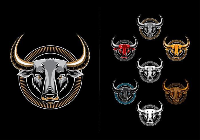 Hydro74 bull vector