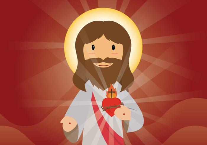 Free Sacred Heart Illustration