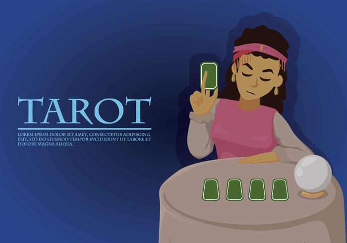 Kostenlose Tarot-Illustration