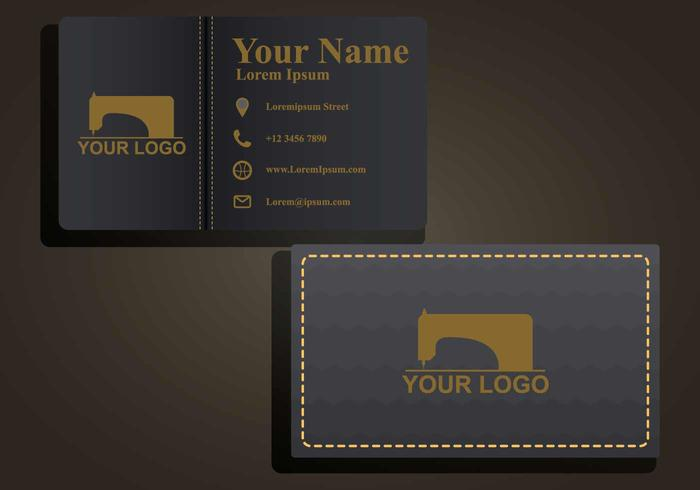 Free Namecard Illustration