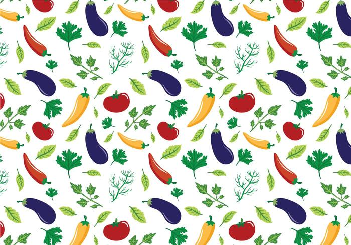 Free Vegetables Patterns Vectors