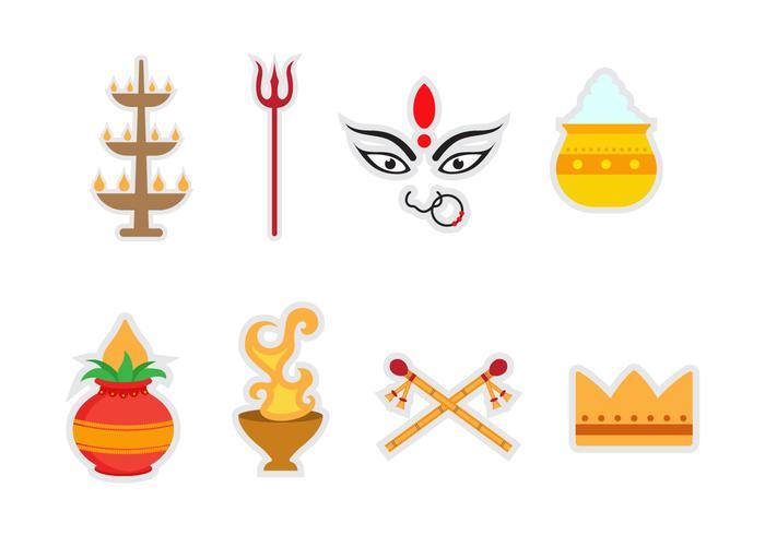 Free Durga Vector