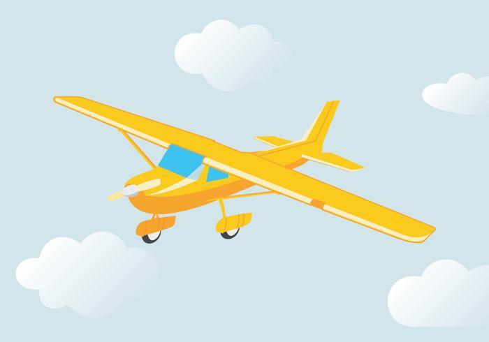 Flying Cessna Vector