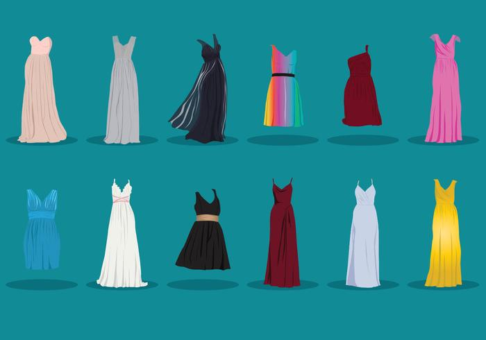 Collection Of Bridesmaid Dress