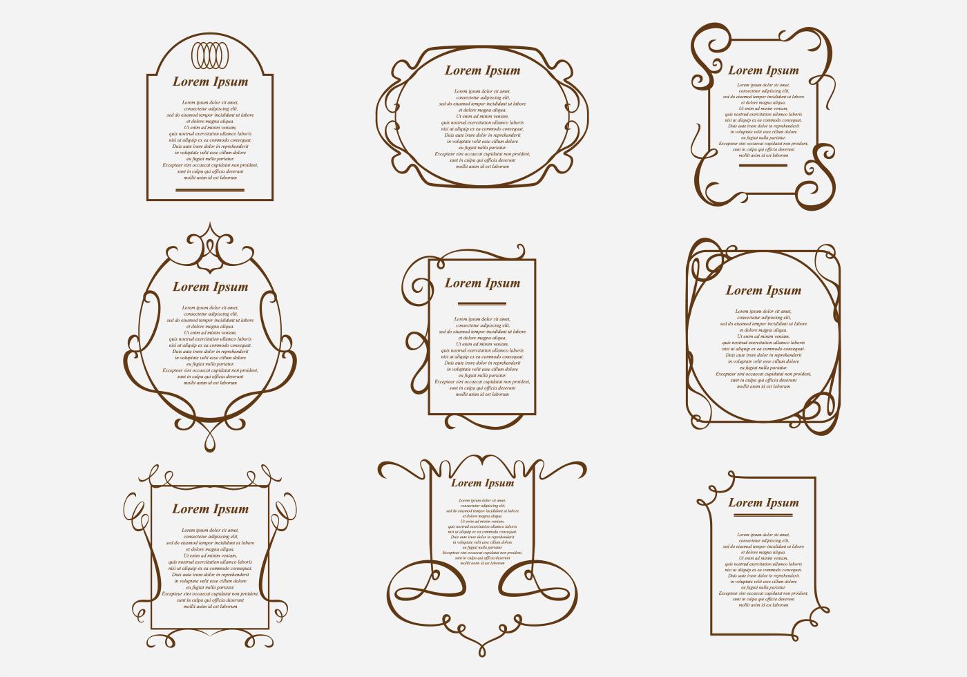 Free Vector Border Designs - (39115 Gratis-Downloads)