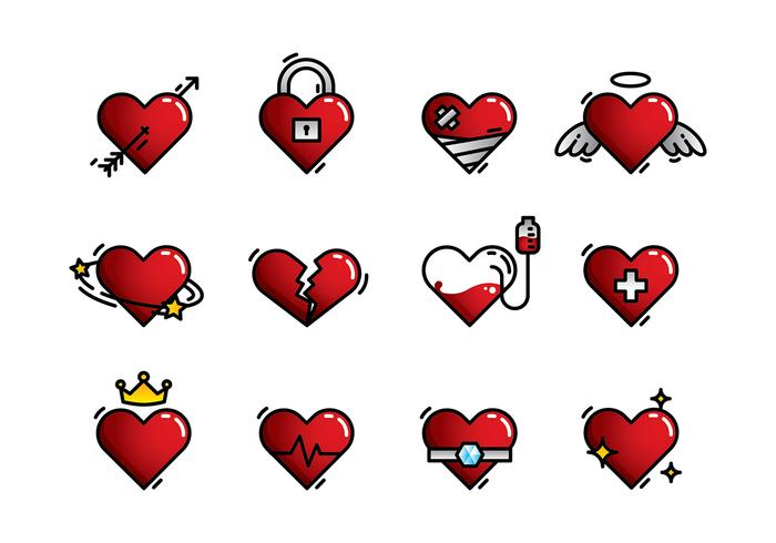 Heart Icon Free Vector