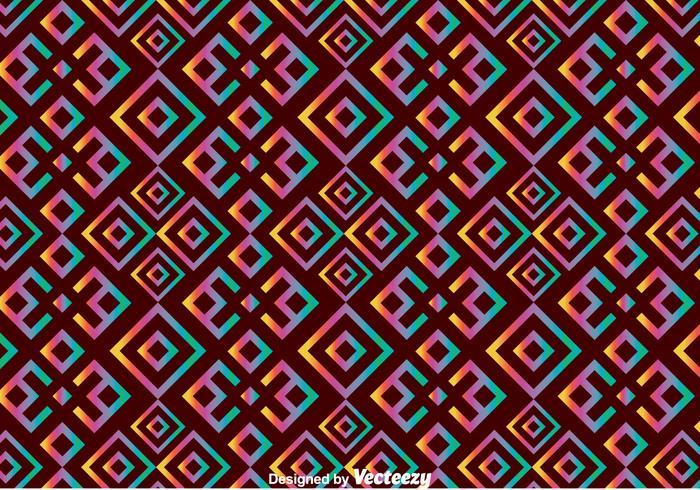 Ethnic Huichol Seamless Pattern