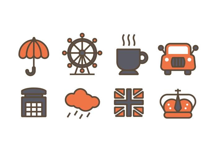 London related design icons