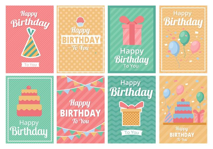 Birthday Party Template Invitation Vector Download Free Vector Art