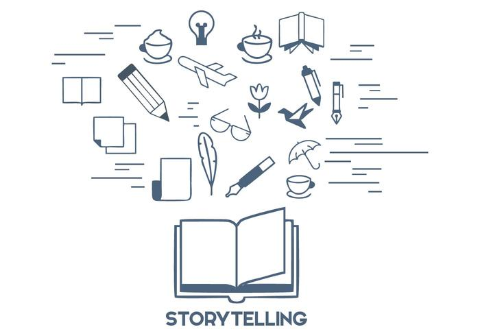 Free Storytelling Vector Illustration