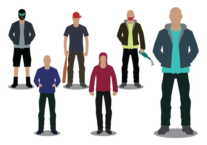 Hooligans vector