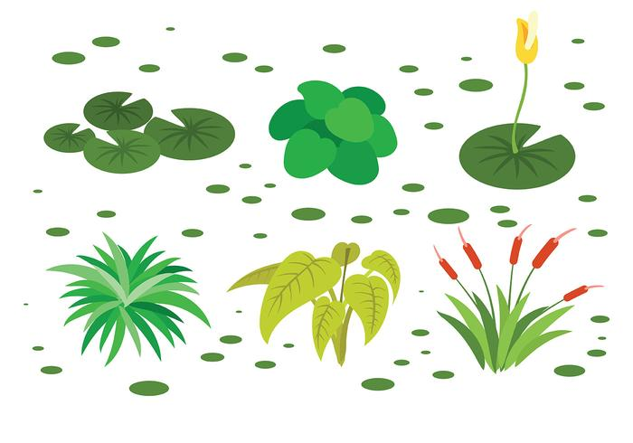 Gratis Swamp Icons Vector