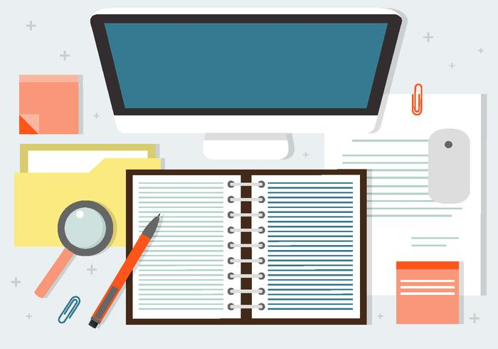 Gratis Business Workshop Vector Achtergrond