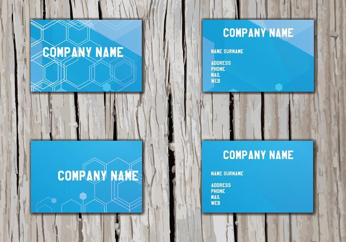 Vector de Namecard