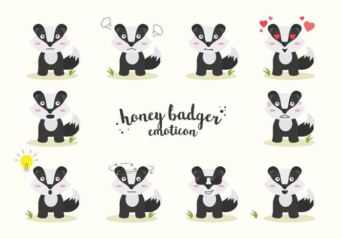 Free Honey Badger Vector
