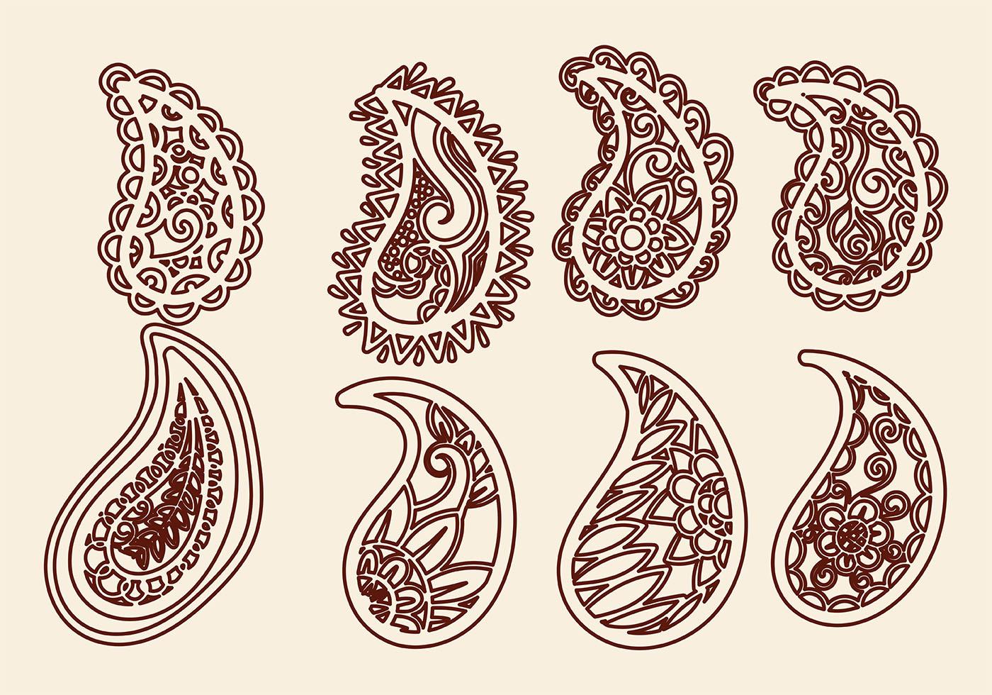 Paisley Free Vector Art - (15012 Free Downloads)