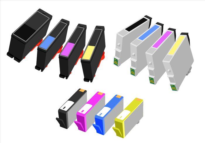 Ink Cartridge Free Vector