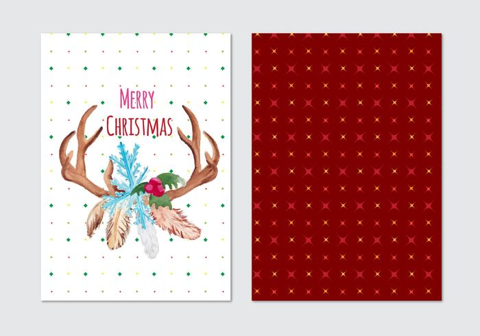 Christmas Free Vector Card