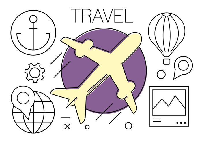 Iconos de viajes gratuitos