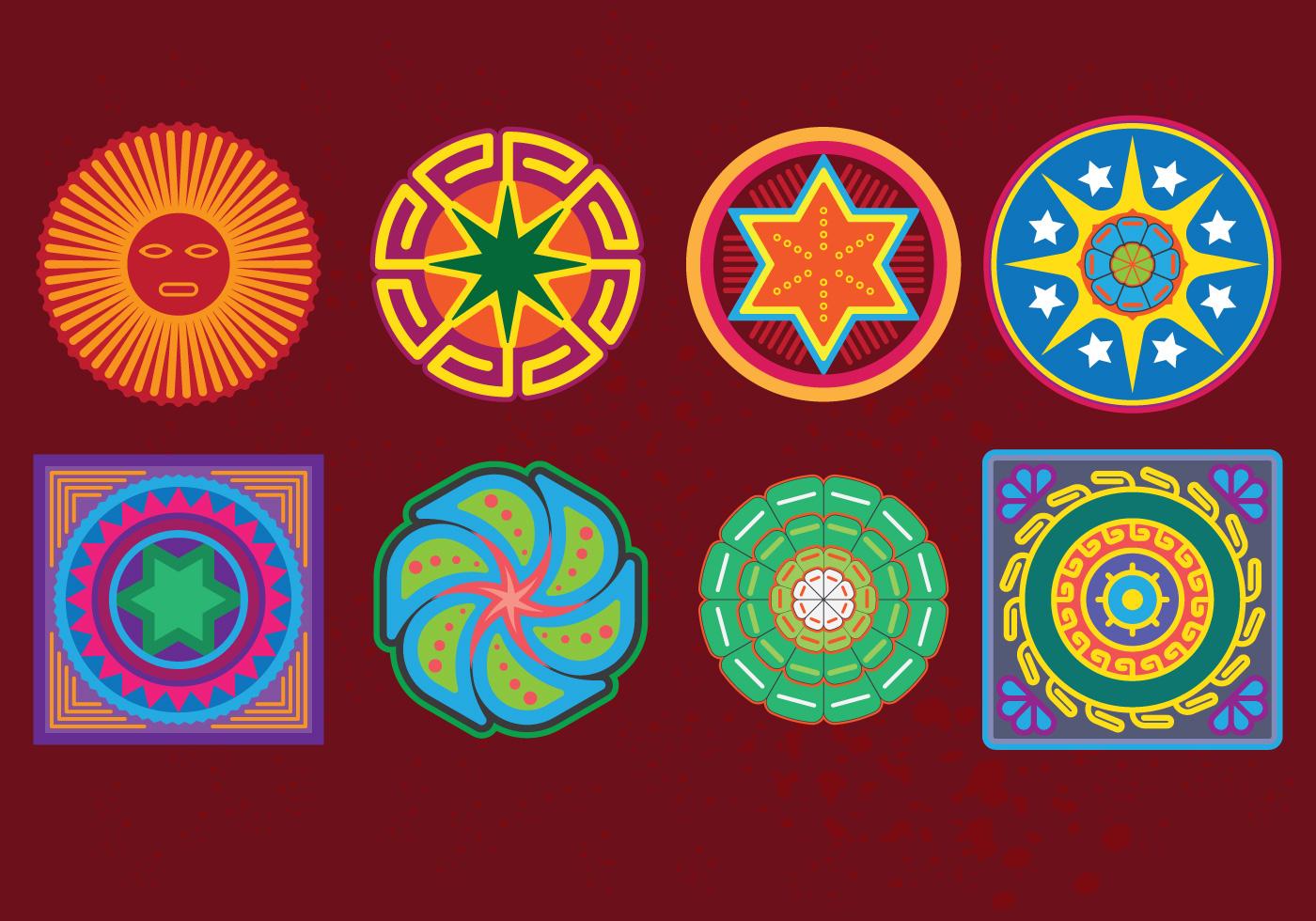 Huichol Free Vector Art