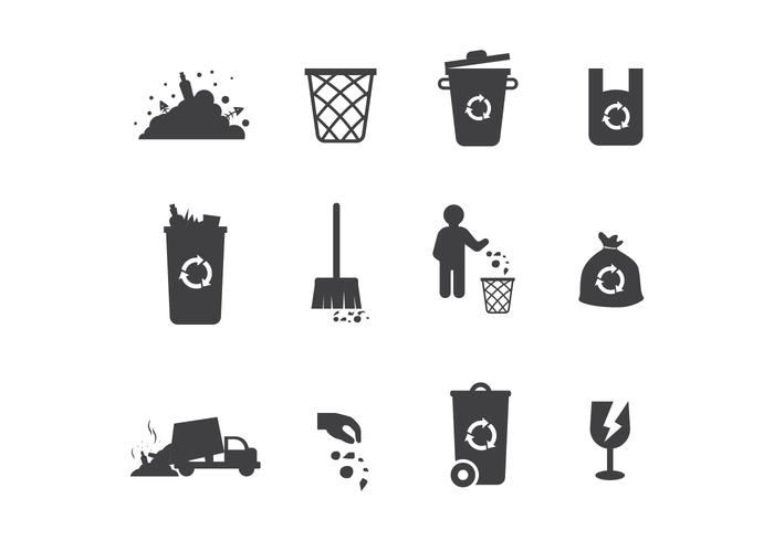 Landfill Vector Icons