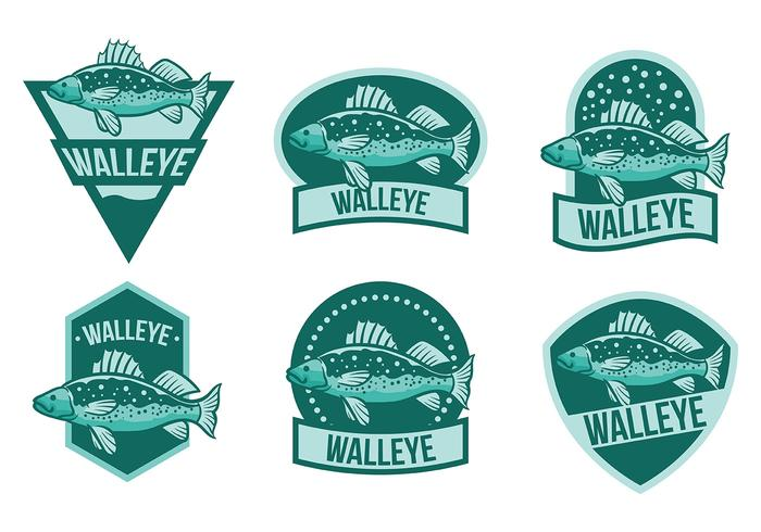 Free Walleye Icons Vector