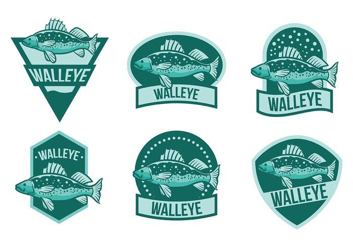 Free Walleye Icons Vektor