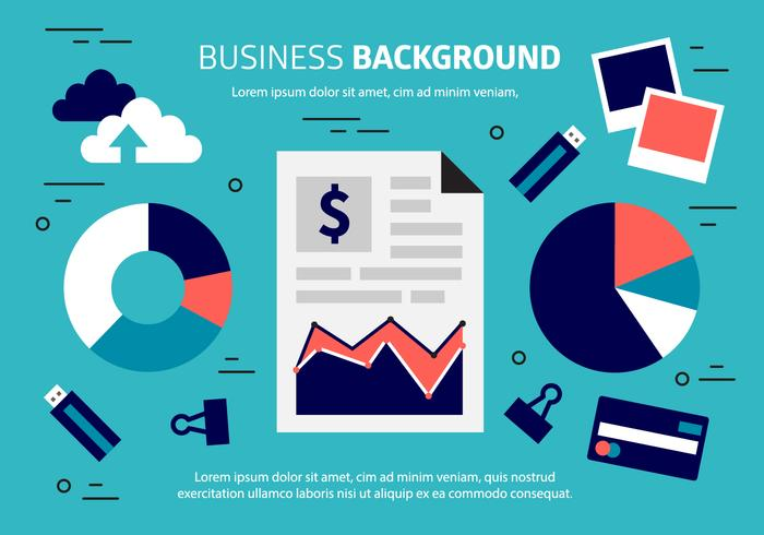 Free Business Background Vector