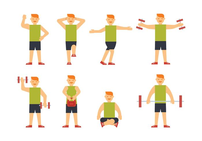 Sportsman training vectors