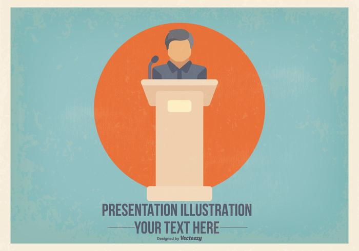 Flat Presentation Illustration