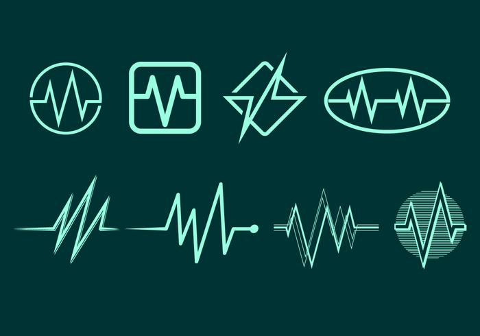 Flatline Icon Free Vector