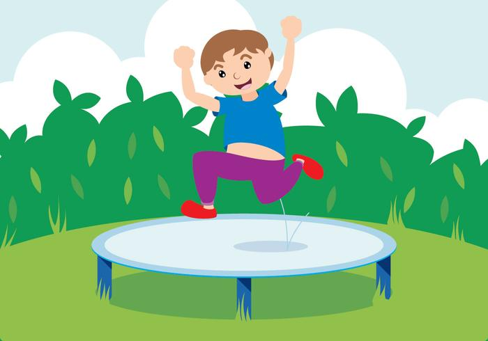 Jump with Trampoline