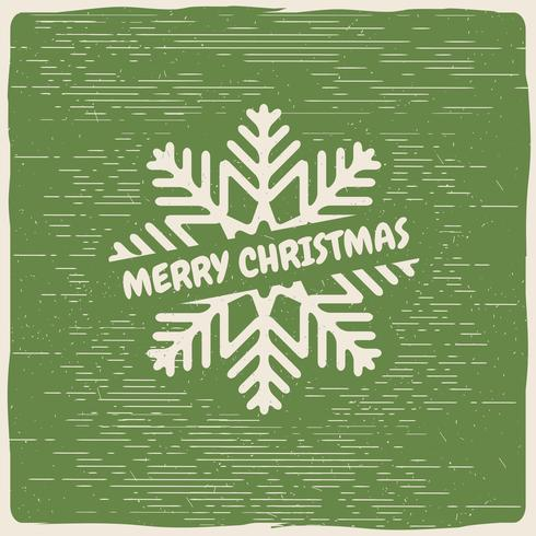 Free Vector Christmas Snow Flake