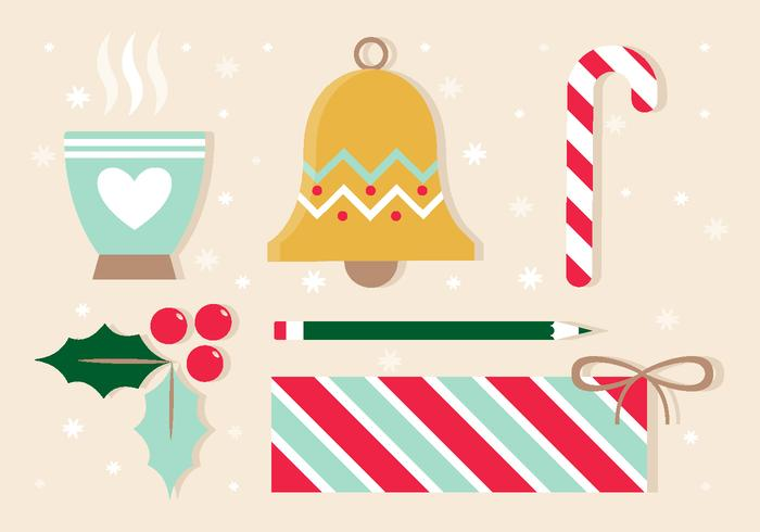 Free Vector Christmas Design Elements