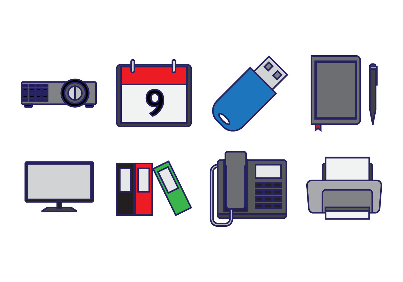 Free office element icon vector download free vector art for Bankia oficina internet login