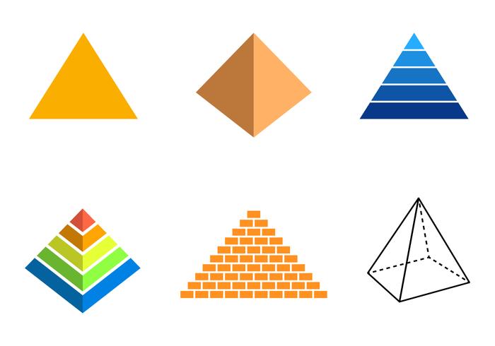 Gratis Piramide Vector