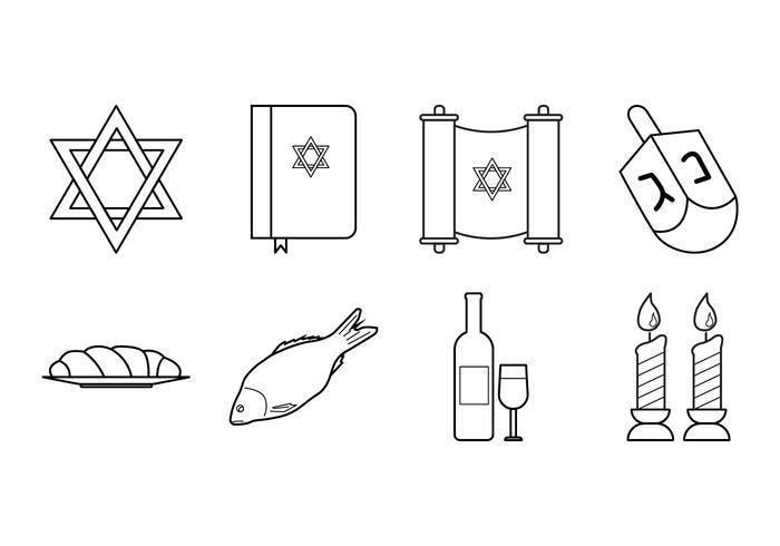 Jewish Icon Vector