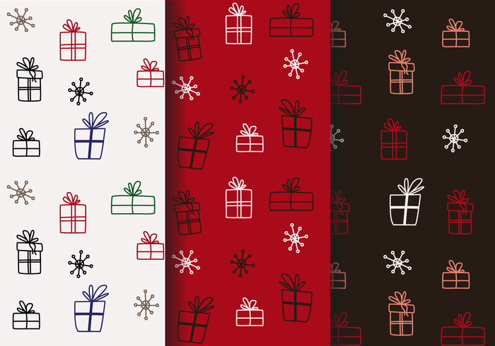Free Christmas Pattern Vector
