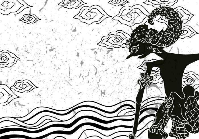download vector wayang gunungan illustration vectorpicker vector wayang gunungan illustration