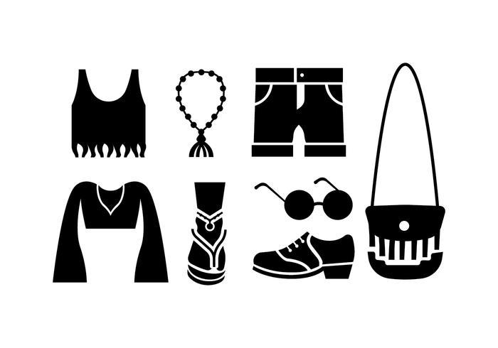 Boho & gypsy style vectors