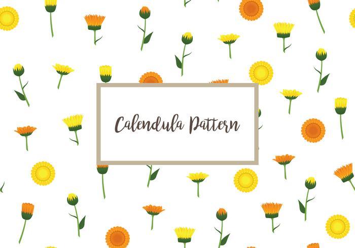Calendula mönstret