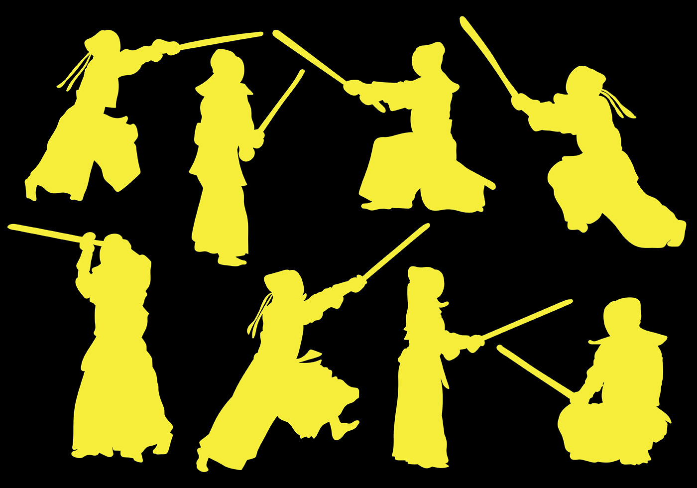 Free Kendo Icons Vector - Download Free Vector Art, Stock ...